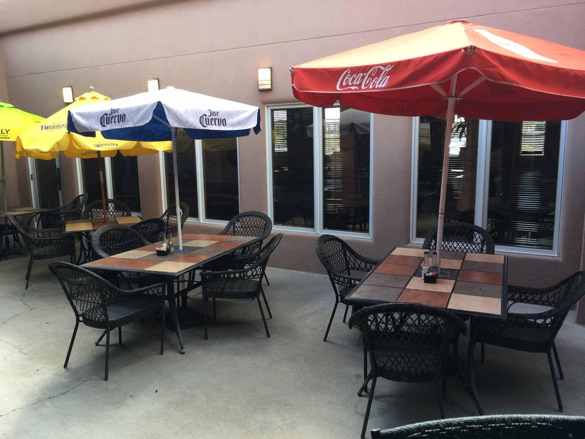 La Cocina Hot Stuff patio seating