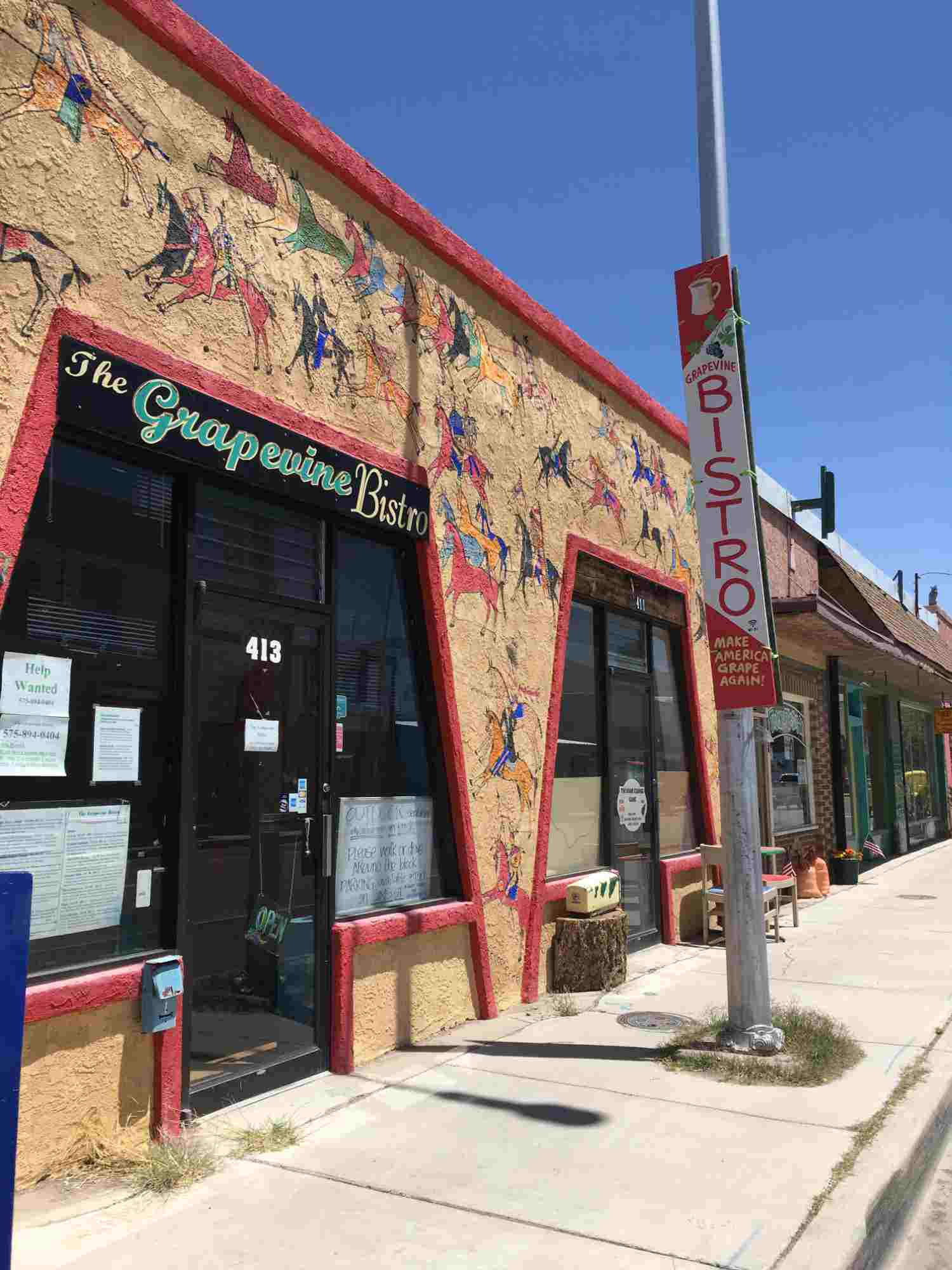 Grapevine Bistro downtown Truth or Conseuquences