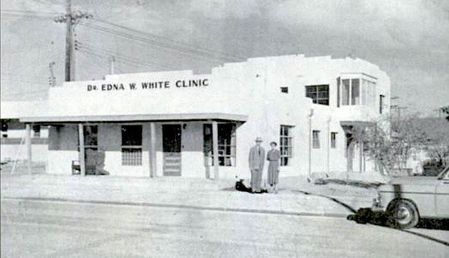 Dr. Edna White's office at Mims & Austin in Hot Springs New Mexico
