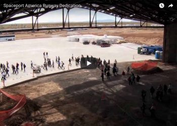 2010 Spaceport America runway dedication