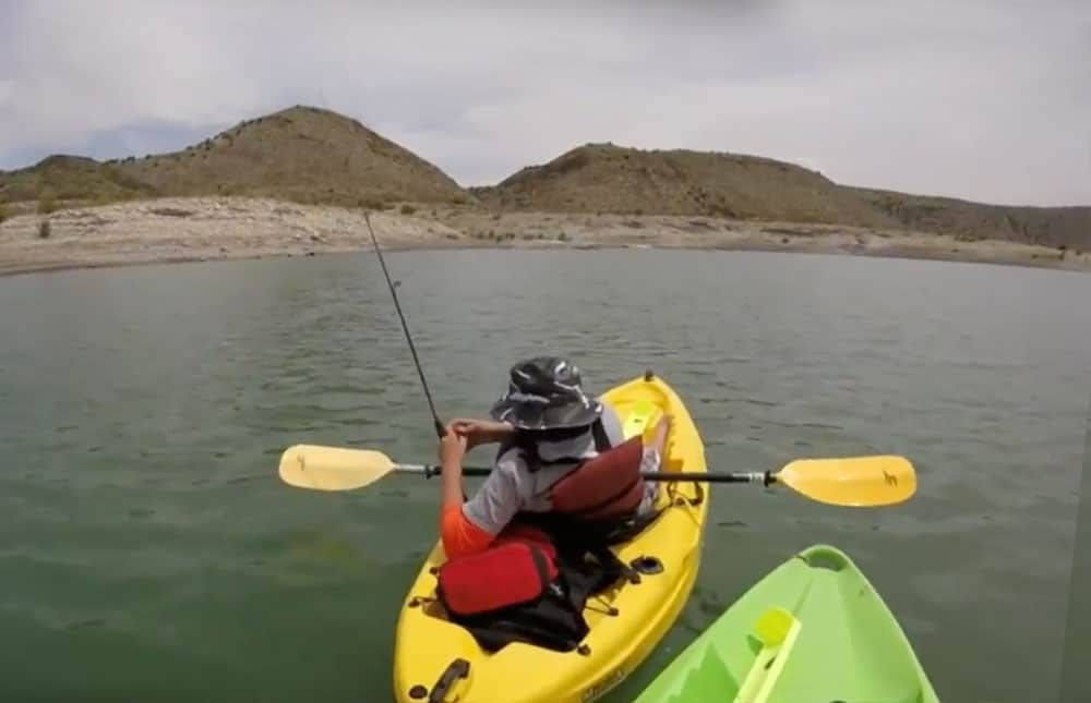 kayak fishing tournament, elephant butte lake