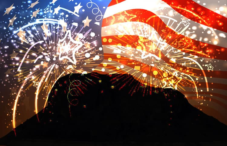 4th Of July Events Near Me 2020.July 4 Fireworks Show At Elephant Butte Lake Sierra County