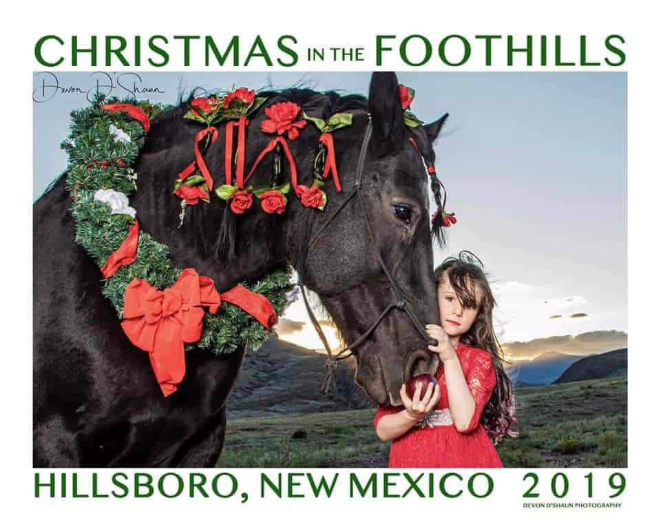 2019 Christmas in the Foothills, Hillsboro NM