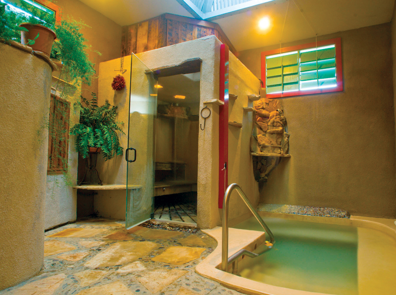 Blackstone Hotsprings Wet Room, Truth or Consequences at Hot Springs New Mexico