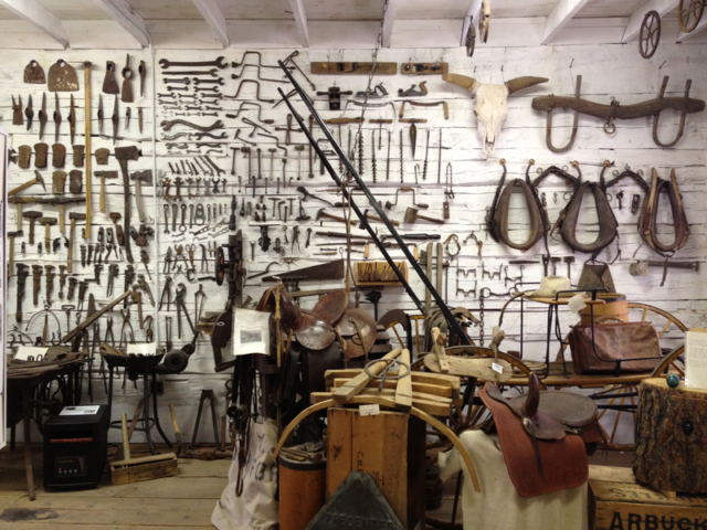 Tack Wall, Pioneer Store Museum