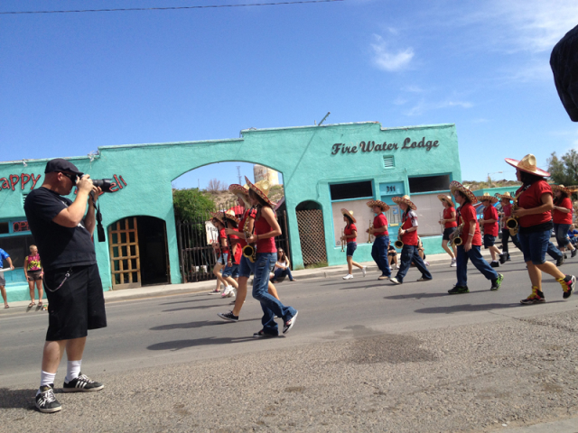 Hog Springs High School Band, Fiesta 2012