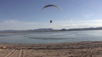 paragliding at elephant butte lake