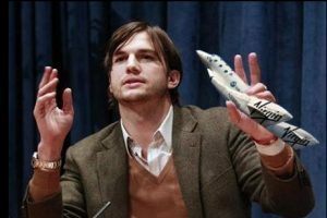 Soon-to-be Space Traveler Ashton Kutcher