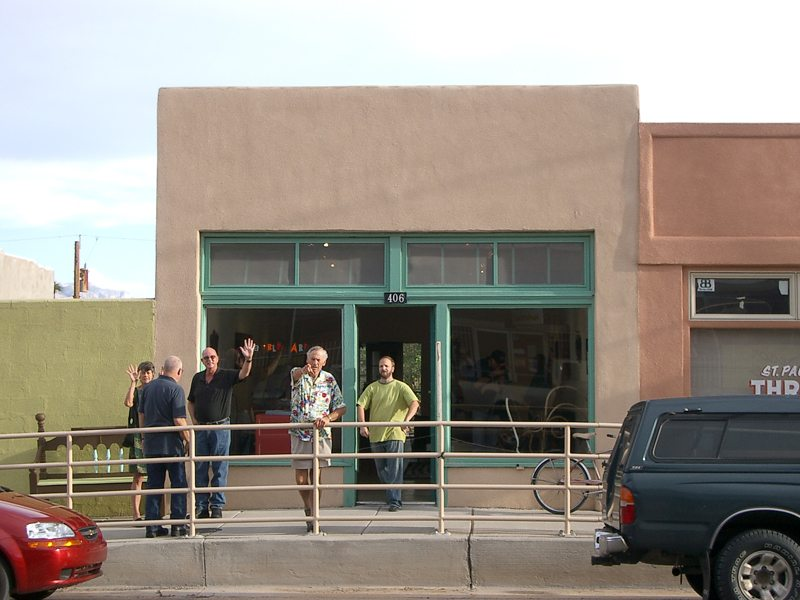 M Gallery on Main Street, currently known as Passion Pie Cafe, circa 2010