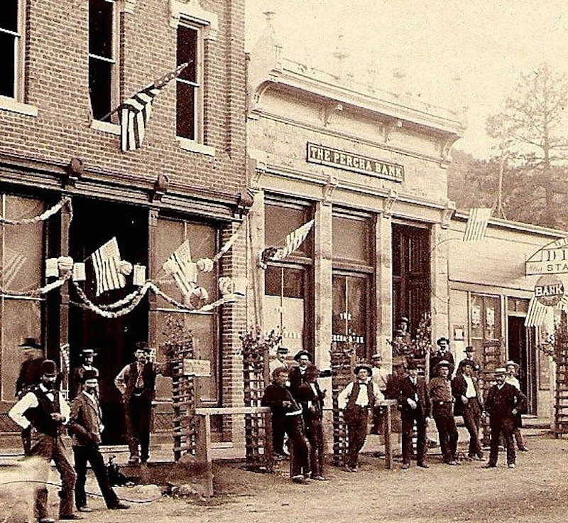 Percha Bank, Kingston New Mexico, 1888