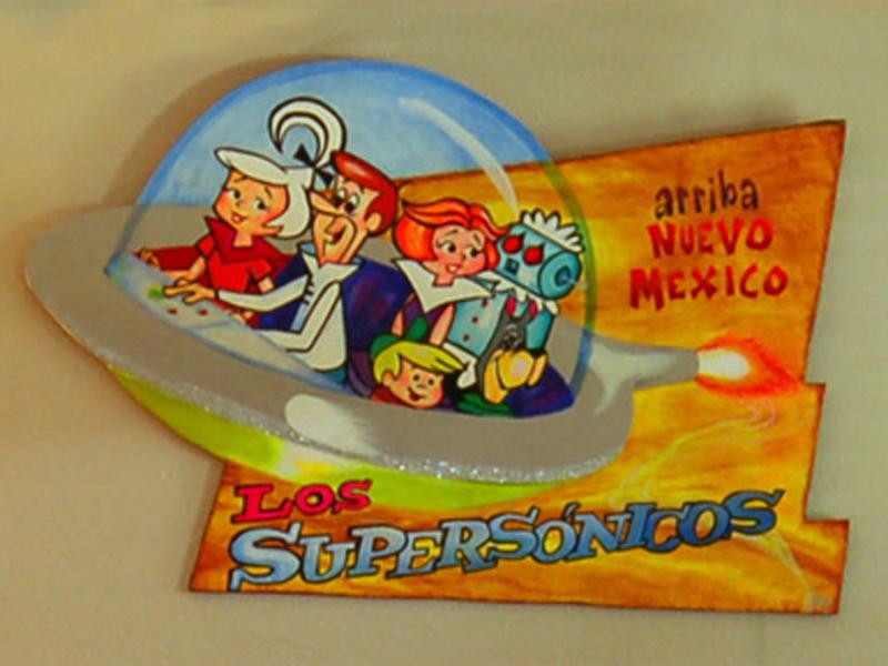 Los Supersonicos by Al Harp at Blackstone Hotsprings