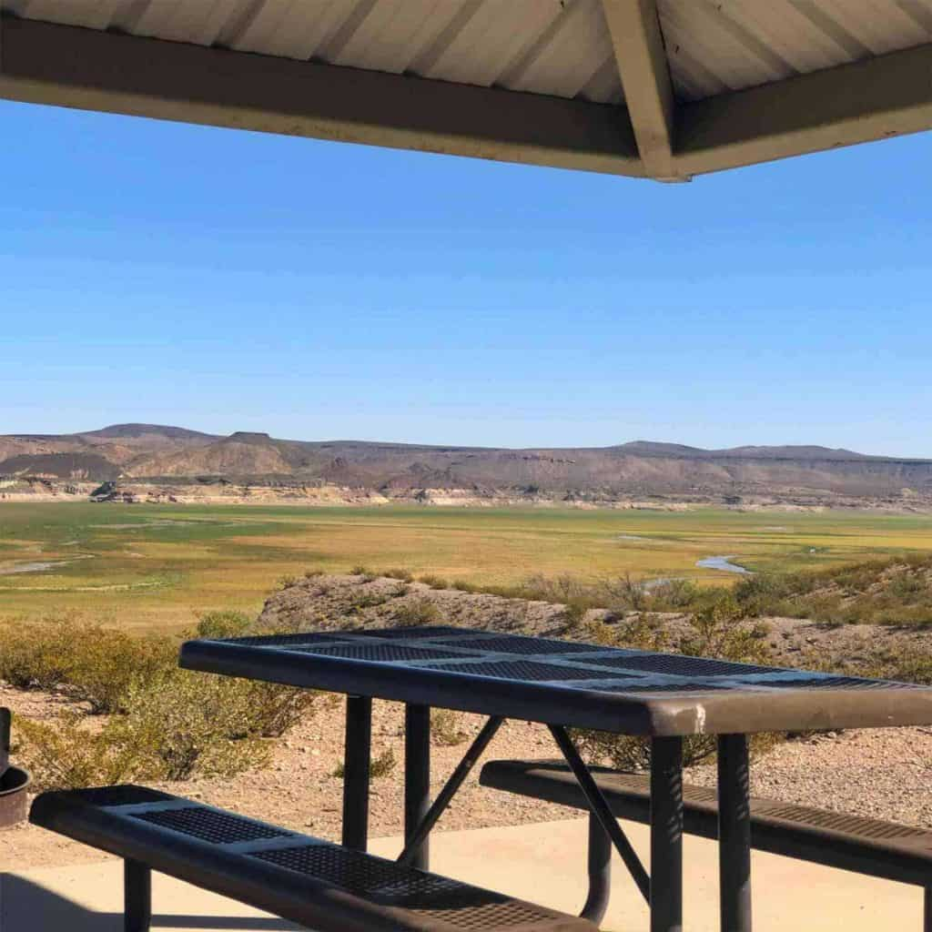 South Monticello Campground, Elephant Butte Lake State Park