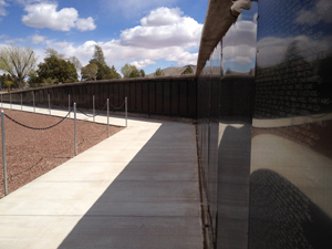 The Wall at Veterans Memorial Park