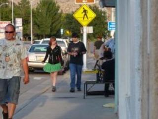 Art Hop Street scene, 2008