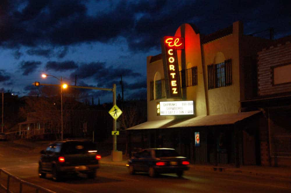 El Cortez Theater in downtown Truth or Consequences