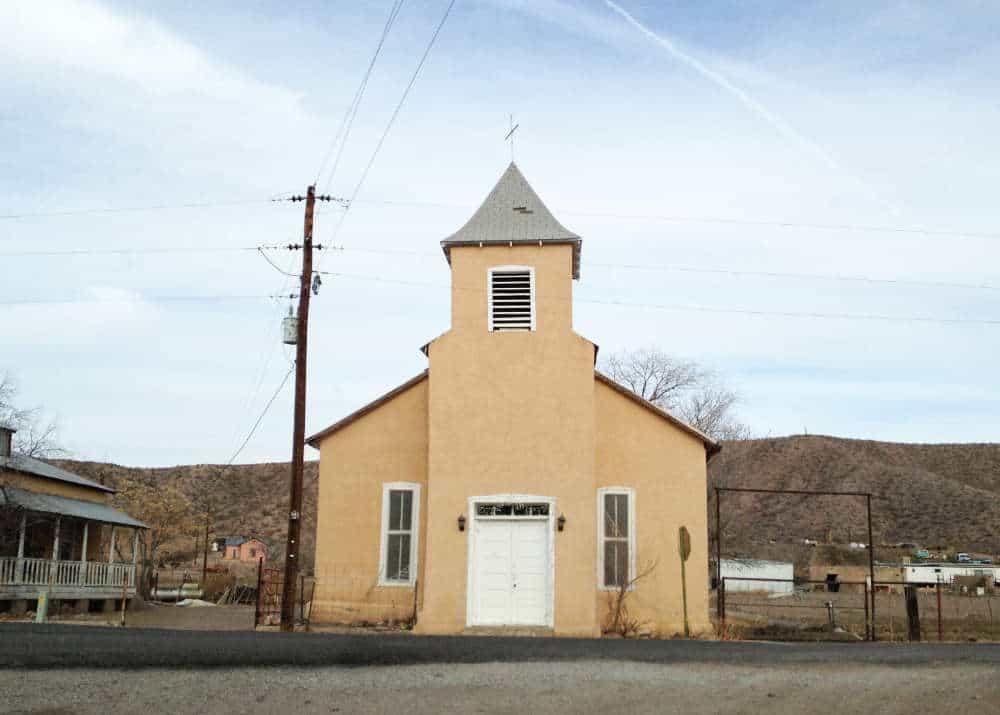 San Ignacio Church in Monticello New Mexico