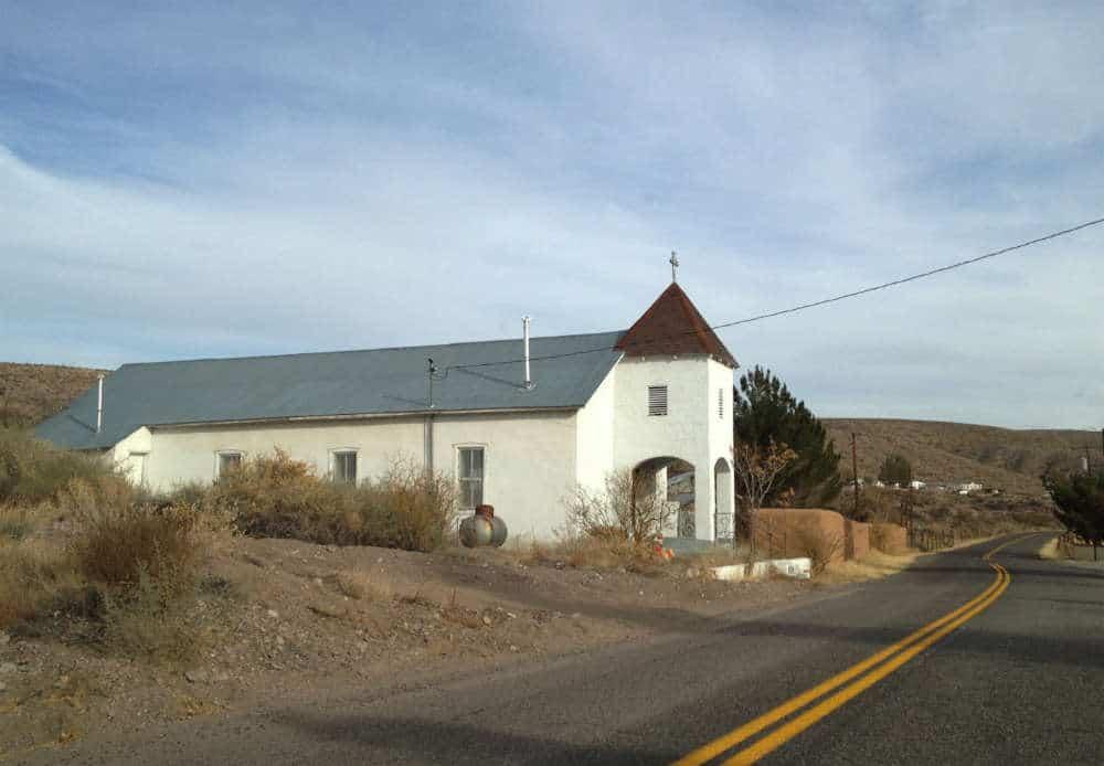 San Lorenzo Church in Las Placitas New Mexico