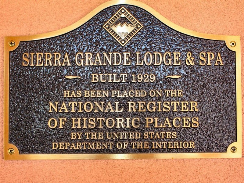 Sierra Grande Lodge - on the National Register of Historic Places