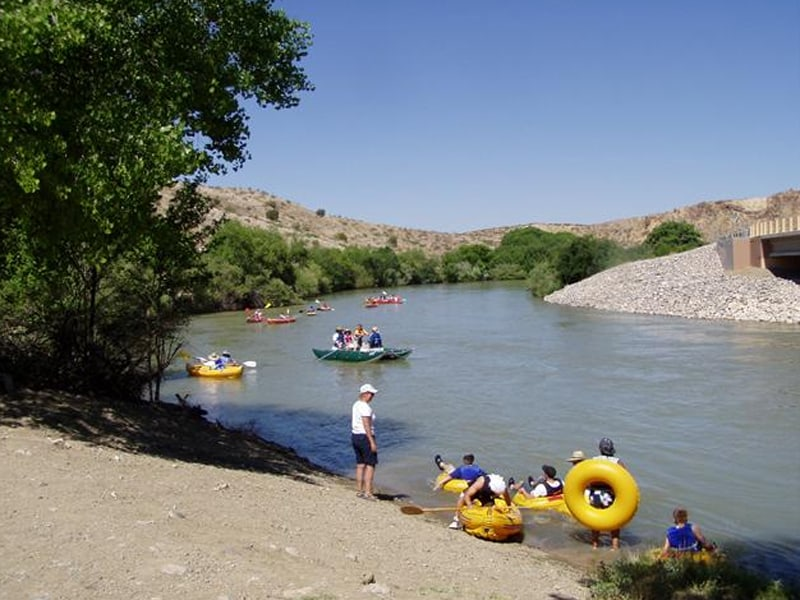 rent tubes and float the river!