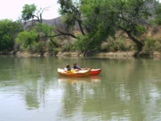 Year-round - rent a kayak and paddle the Rio Grande!