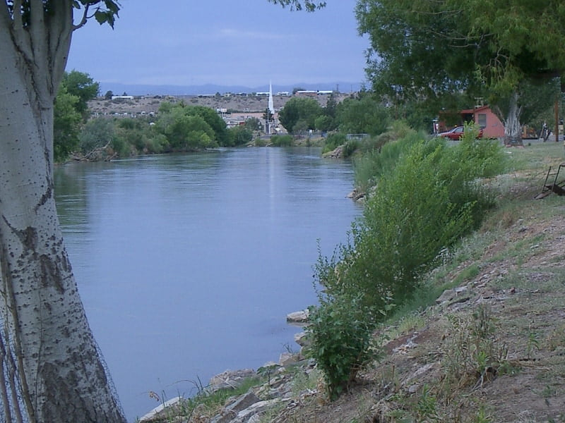River from Ralph Edwards Park