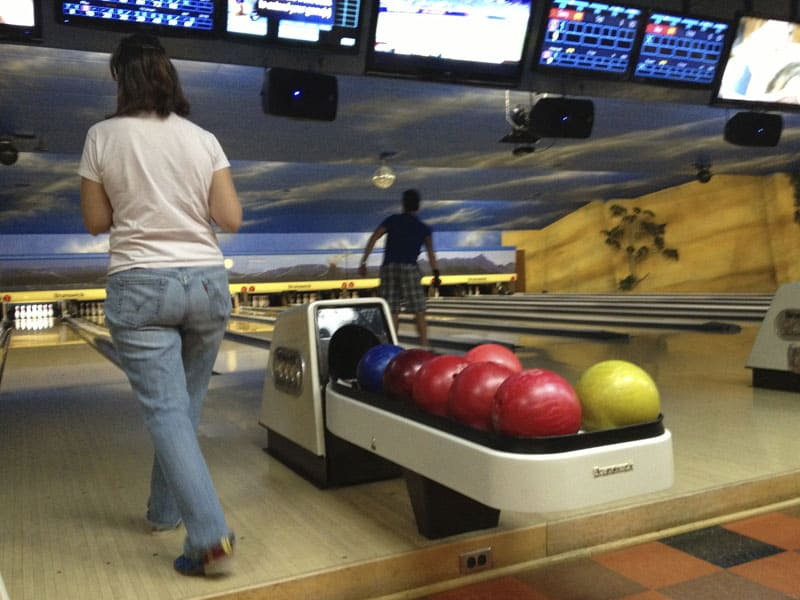bowling at Bedroxx in Truth or Consequences NM