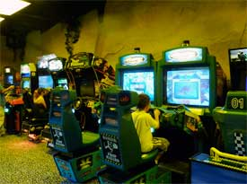 Video Games at Bedroxx Bowling Alley