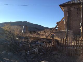 Lake Valley ruins