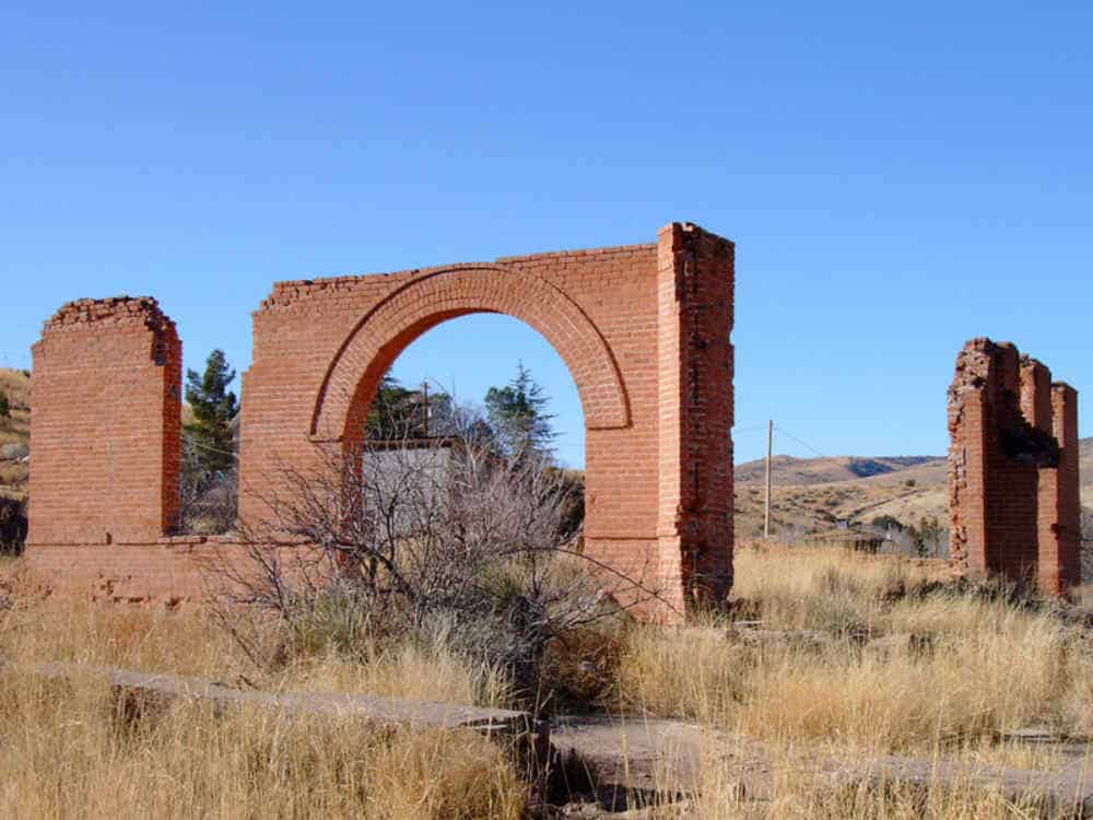 Hillsboro New Mexico Courthouse Ruins