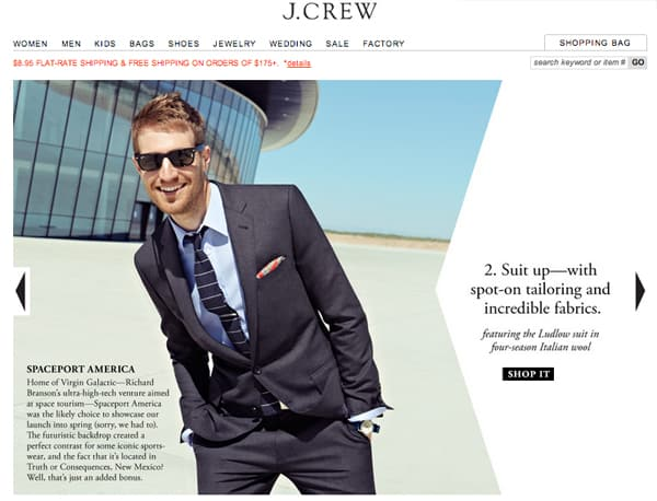 J. Crew at Spaceport America