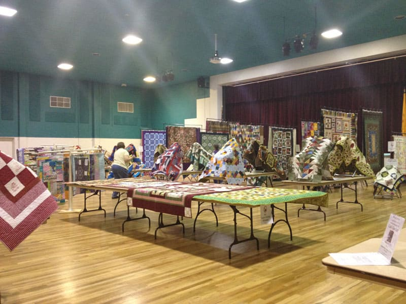 Annual Gathering of Quilts in Truth or Consequences New Mexico