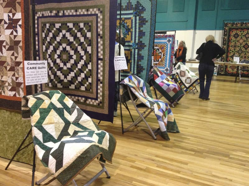 Community CARE Quilts at the Quilt Show