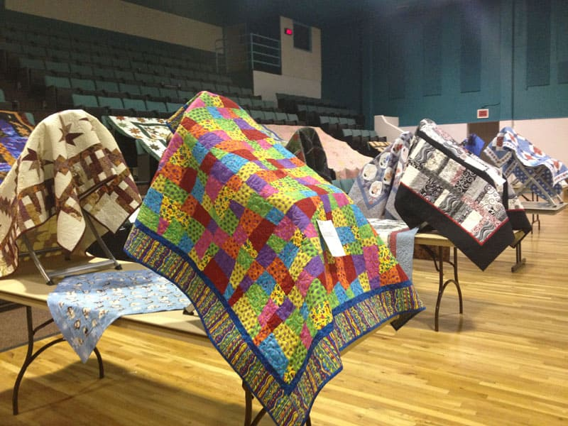 quilts at the Truth or Consequences quilt show