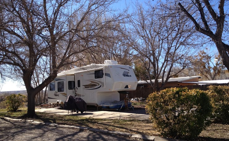 RV Park on the Rio Grande
