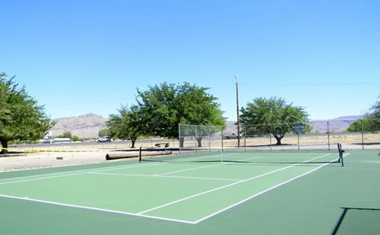 Tennis Court, Williamsburg NM