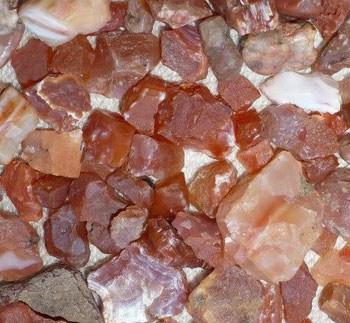 Sierra County rockhounding find - carnelian