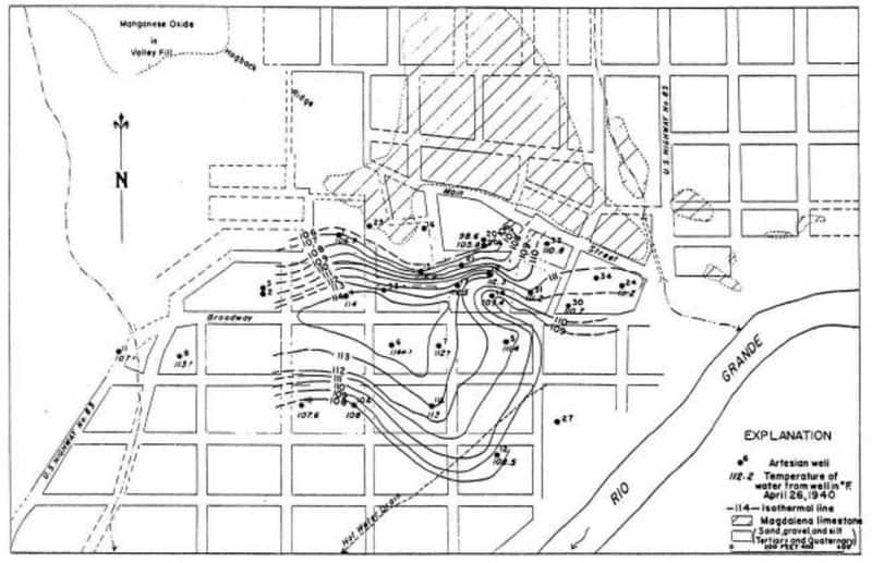 hot springs study 1940