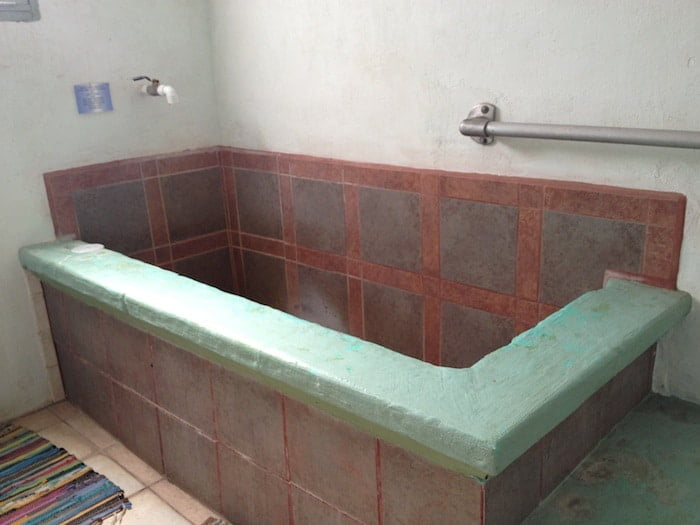 bath at Fire Water Lodge