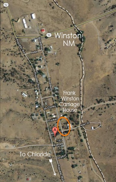location of Frank Winston's Carriage House