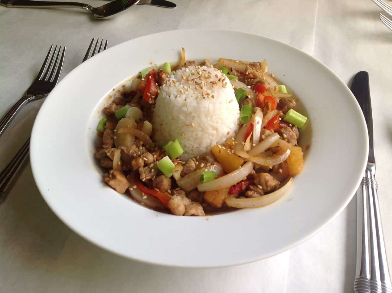Latitude 33 Stir Fried Rice