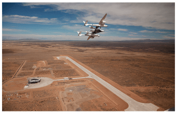 Spaceport America runway pre-lengthening