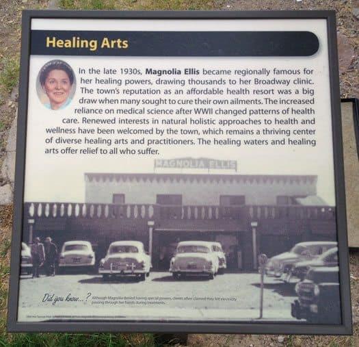 Magnolia Ellis building marker