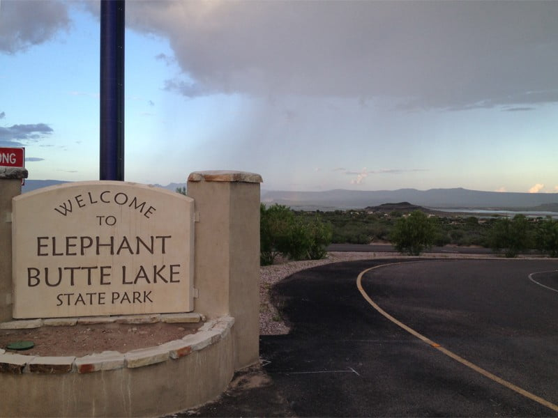 welcome to Elephant Butte Lake State Park