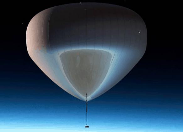 near-space balloon