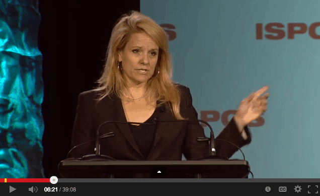 Gwynne Shotwell of SpaceX at ISPCS