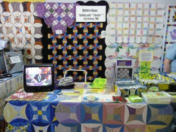 quilting supply vendors at the quilt show