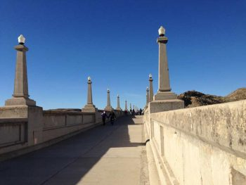 first day hike across Elephant Butte Dam