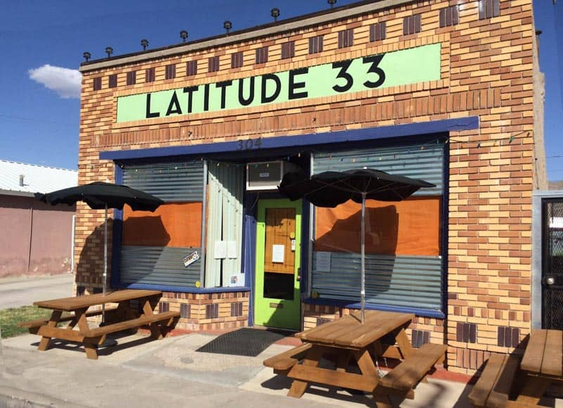 Latitude 33, asian fusion in Truth or Consequences