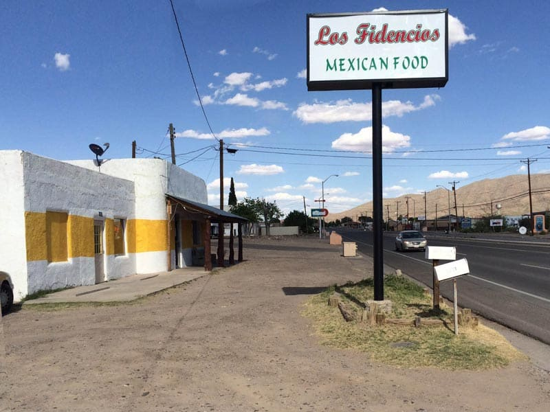 Los Fidenciso Mexican Food in Truth or Consequences
