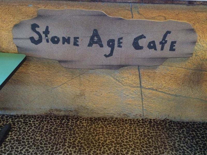 Stone Age Cafe reopens at Bedroxx Bowling Alley